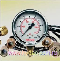 Средства измерения гидравлических величин Mini-Mess производства Hydac, Германия