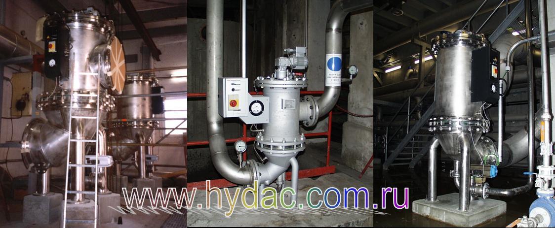 Фильтр RF6, HYDAC, Германия, применение в целлюлозно-бумажной промышленности